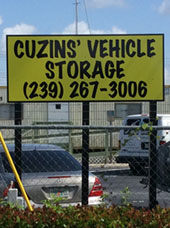 Vehicle Storage