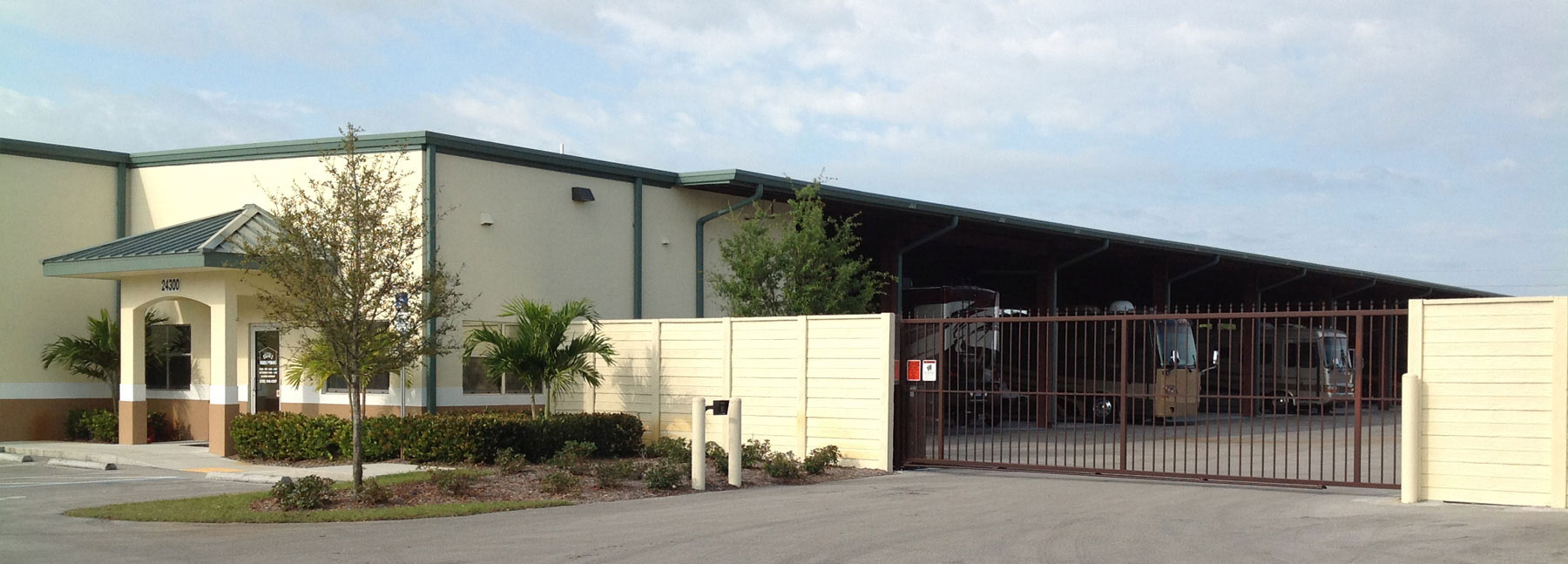Four Convenient Locations to Serve your Vehicle storage needs